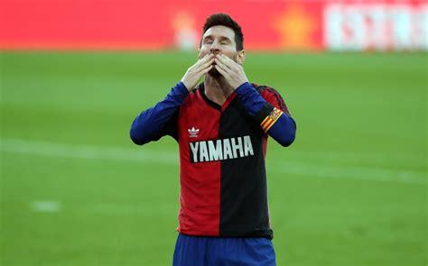 Messi salutes Maradona as Barça trounce Osasuna   Our Today