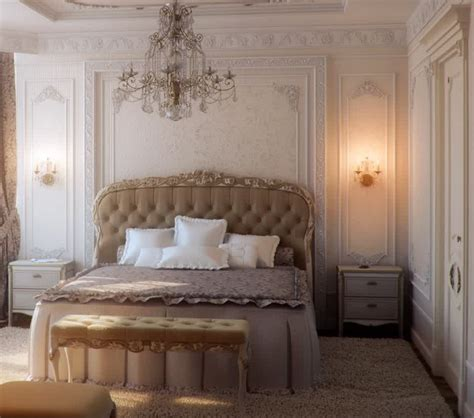 French Bedroom Lighting With Antique Wall Light