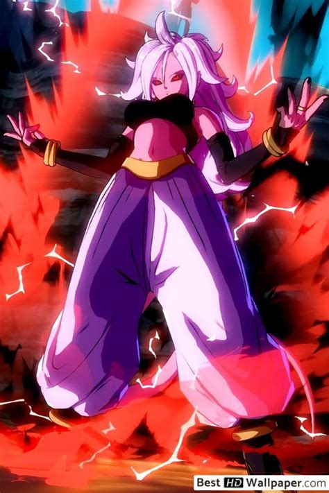 dragon ball fighterz android  hd wallpaper