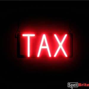 TAX Signs