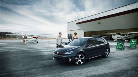 volkswagen golf vi gti  full hd