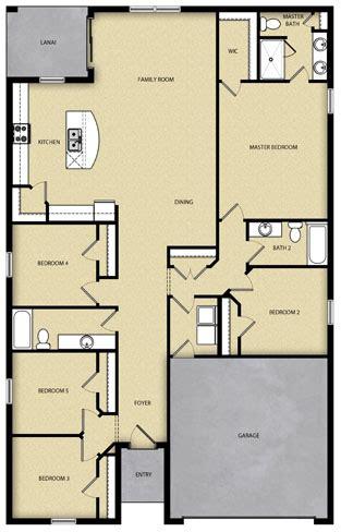br  ba  story floor plan house design  sale tampa