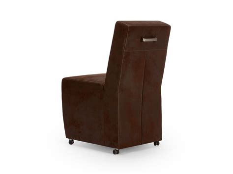 chaise en simili cuir chaise simili cuir marron
