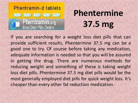 buy phentermine 37 5mg for burning more to lose more