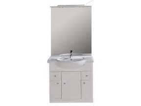 bloc l 80 cm salle de bain turin coloris blanc vente de meuble et rangement conforama