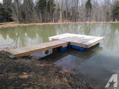 Boat Lift Helper For Sale by 8 X 12 Floating Boat Dock With 12 R Installed For