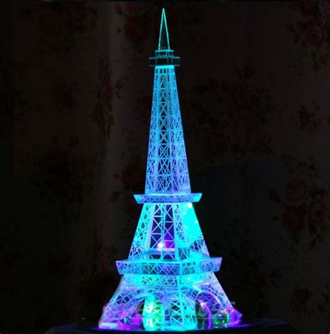 cut crystal eiffel tower xmas ornament 2019 tower eiffel tower ornaments