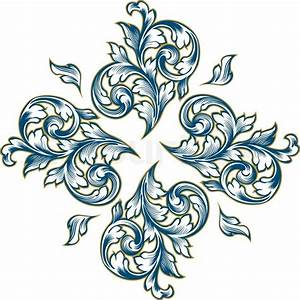 Floral design graphic pattern   Stock Vector   Colourbox