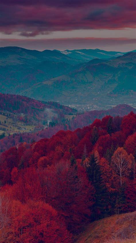 fall mountain tree nature beautiful iphone 6