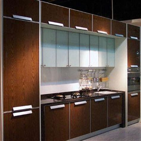 kitchen cabinet doors made of special laminated tempered