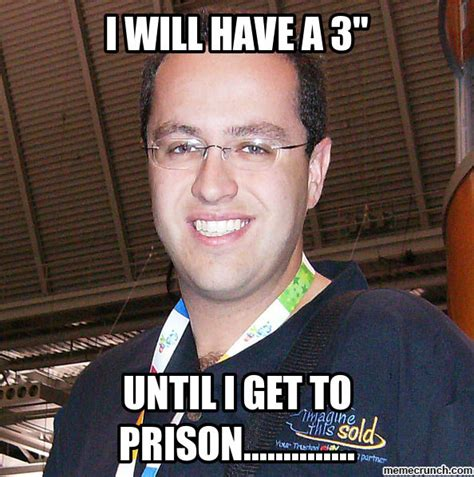 Jared Fogle Memes - subway s jared fogel too soon tigerdroppings com