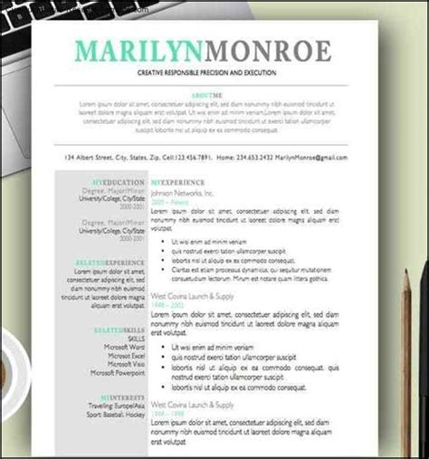 Cool Resume Formats by Cool Resume Templates For Mac Free Sles Exles