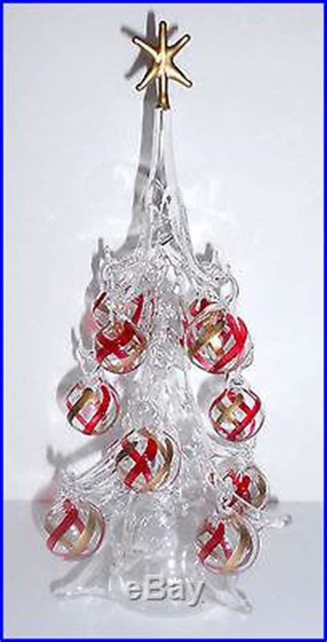 venetian glass christmas tree soffieria parise venetian blown glass tree ornaments italy glass