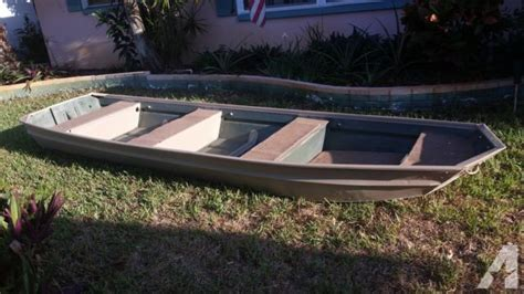 Local Jon Boats For Sale by 14 Ft Jon Boat For Sale 14 Foot Pontoon Deck Boat In