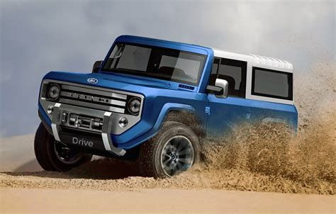 ford bronco mule review concept interior release