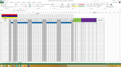 modele planning conges gratuit ccmr - Modèle Planning Congés Excel Gratuit