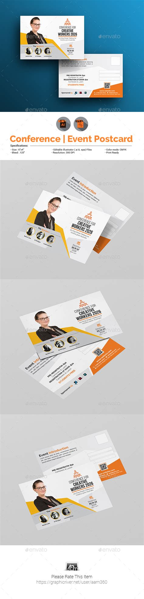 postcard template graphicriver graphicriver simple event fl yer poster postcard
