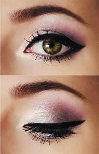 Maquillage Pour Yeux Marron : le maquillage yeux verts beaut en 40 id es ~ Carolinahurricanesstore.com Idées de Décoration