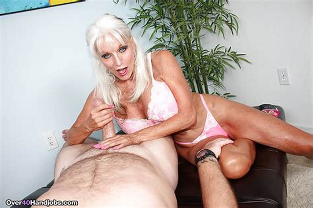 #Over #40 #Milf #With #Grey #Hair #Jerking #Thick #Cock #For #Cum