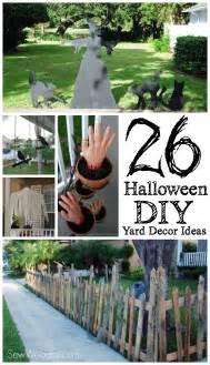 DIY Halloween Yard Decoration Ideas