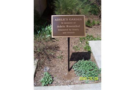 memorial garden plaques metal designs llc