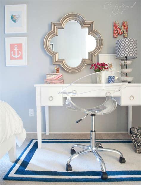 navy coral bedroom centsational girl