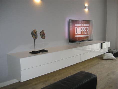 Dressoir Hoogglans Wit Zwevend by Artyx 187 The New Design Vision 187 Alpha 320 Zwevend Tv
