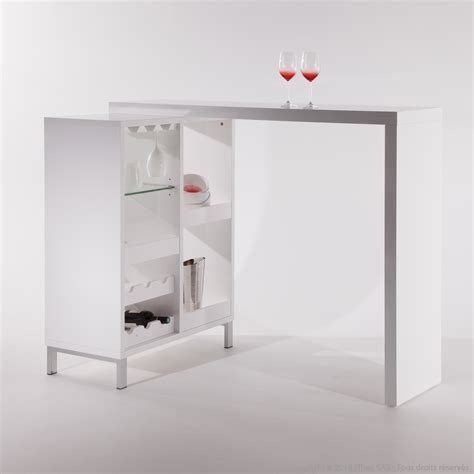 table bar cuisine avec rangement table bar avec rangement dootdadoo com idées de