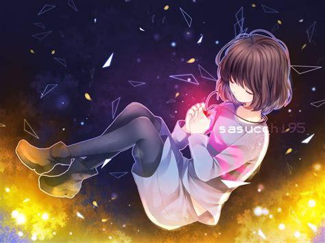 Undertale Anime Wallpaper - frisk by sasucchi95 deviantart on deviantart