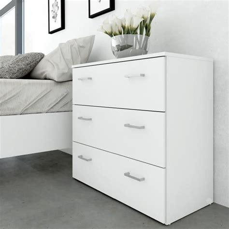 commode chambre adulte design space commode chambre adulte style contemporain blanc l
