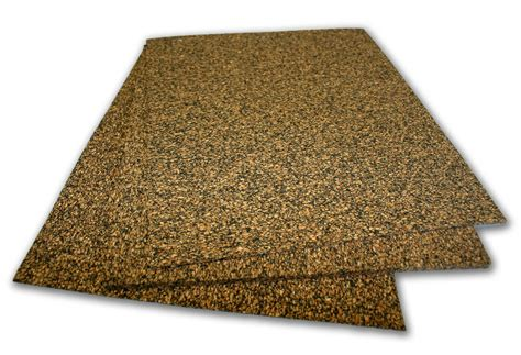 Nitrile Bonded Cork Sheet Oil & Fuel Resistant- Automotive