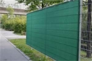 Zaun Sichtschutz Grün : zaun sichtschutz gewebe aus kunststoff gr n mit sen ~ Watch28wear.com Haus und Dekorationen