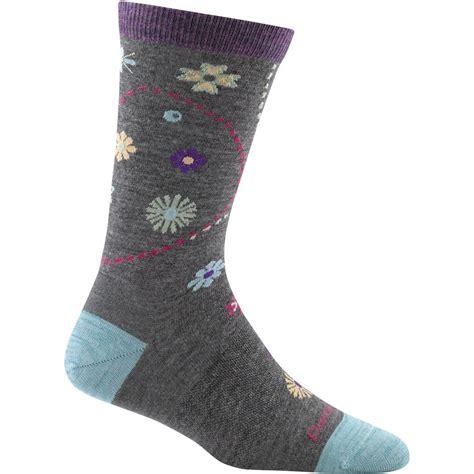 darn tough merino wool spring garden light sock womens
