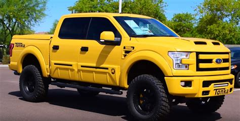 Grown Ups Need Toys too! The 2016 Ford F 150 Tonka Edition