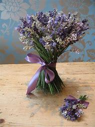 Lavender Flowers Wedding Bouquet