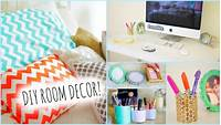 homemade room decorations DIY Room Decorations for Cheap! + How to stay Organized ...
