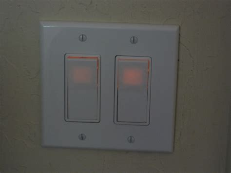 illuminated light switch electrical why energy saving bulb flashes when the