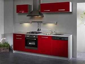 Meuble rouge cuisine incredible decoration peinture pour for Deco cuisine pour magasin meuble belgique