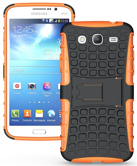Hardcase For Samsung Mega 5 8 new grenade rugged tpu skin cover stand for