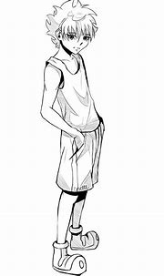 Killua Zoldyck Speed Drawing | Anime Amino