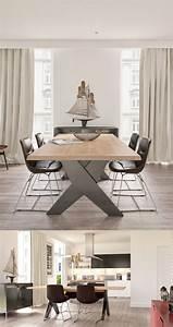 Décoration Salon Moderne Salle à Manger : 1001 id es en images pour la d co salon salle manger ~ Teatrodelosmanantiales.com Idées de Décoration