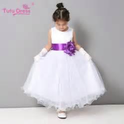 toddler dresses for weddings flower dresses summer cheap white stain dress for children toddler wedding tutu dress