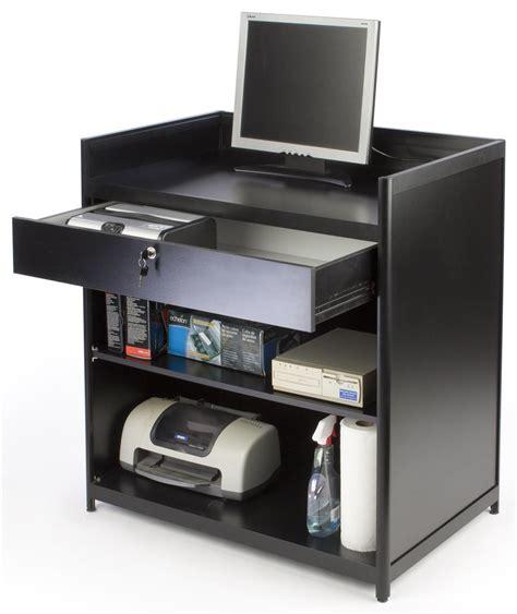 cash register desk for sale cash register stand locking drawer with shelves