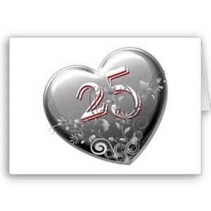 25 ans mariage coeur 25 ans de mariage