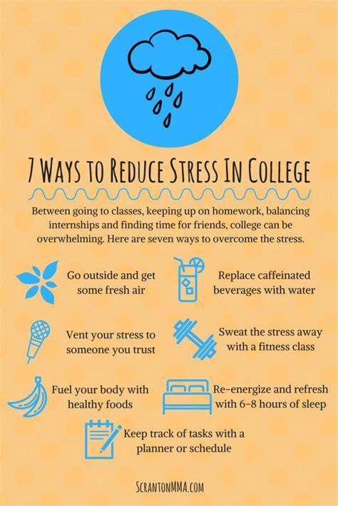 7 Ways To Reduce Stress In College  Scranton Mma Brazilian Jiu Jitsu, Muay Thai & Judo