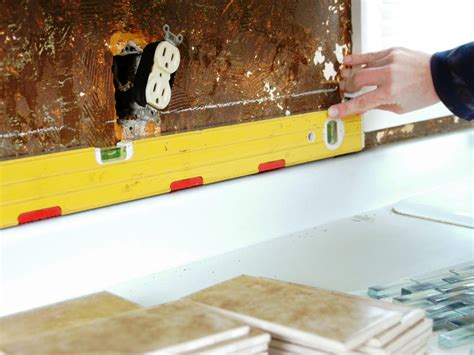 how to do a kitchen backsplash install a tile backsplash how tos diy