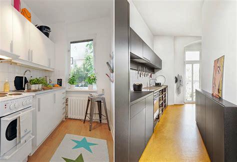 plan cuisine en longueur comment aménager une cuisine en longueur suite encore 30