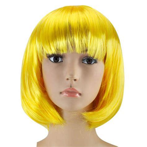 costume wig womens bob wig fancy dress wigs pop