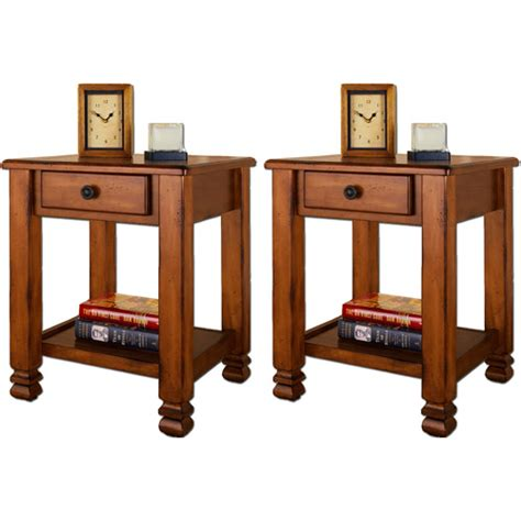 walmart end table with l summit mountain end tables by altra value bundle