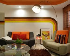 retro home interiors retro living room beautiful homes design